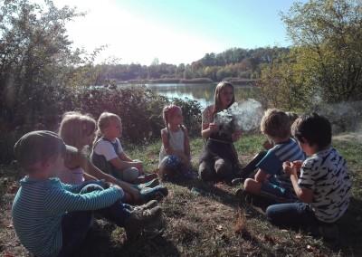 Wildnisschule Aeracura Leipzig Kindergeburtstag Jungen Maedchen Natur 23